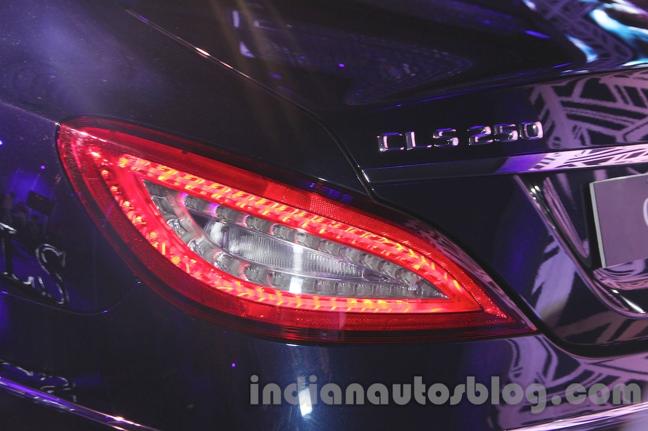 2015 Mercedes CLS taillamp from launch in India