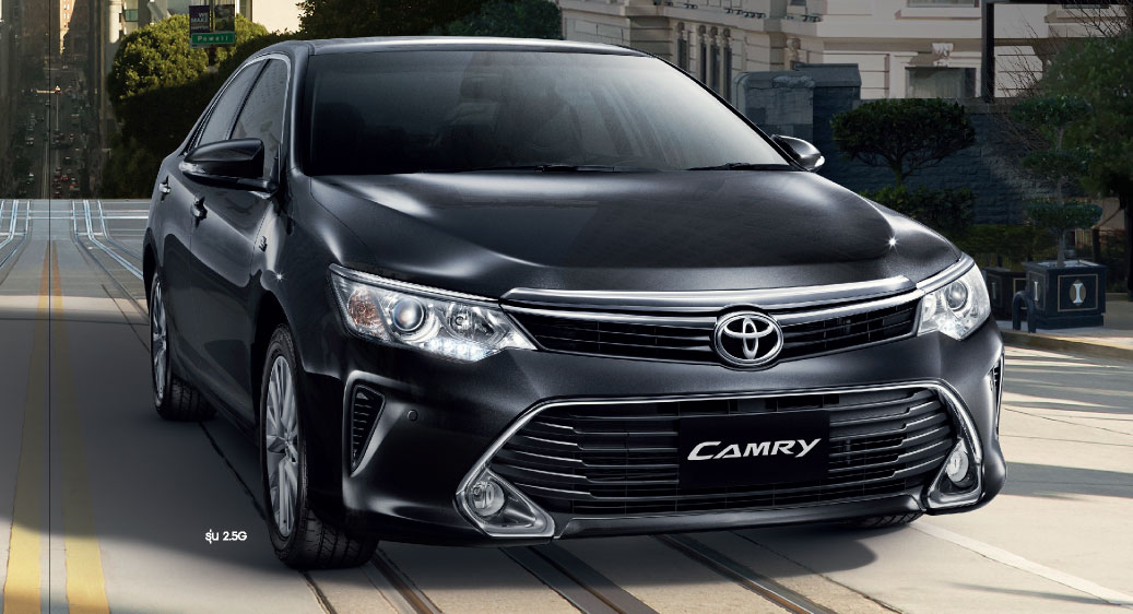 India-bound 2015 Toyota Camry  Facelift