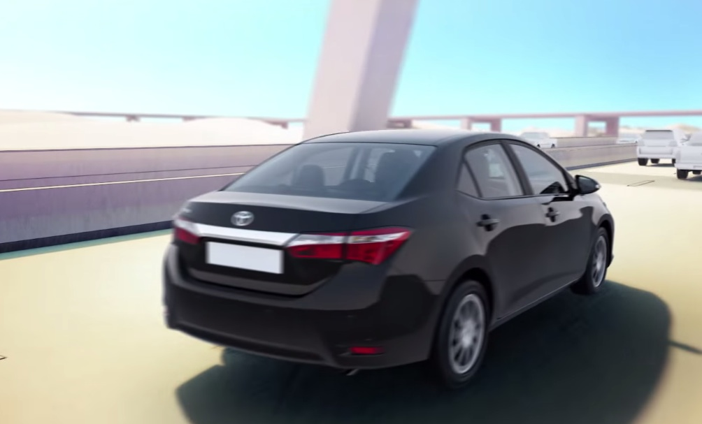 2015 Toyota Corolla facelift rear