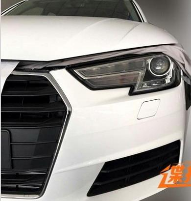 2016 Audi A4 headlamp spyshot leak