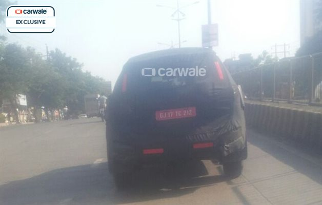 2016 Chevrolet Trailblazer spied rear
