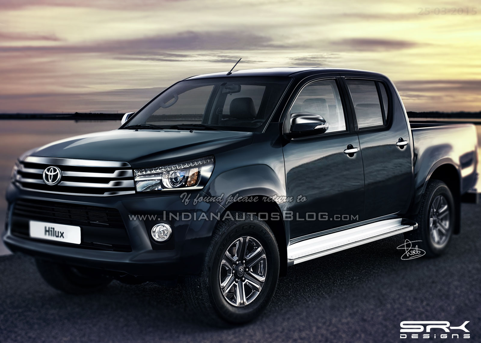 2016 toyota hilux 2016 fortuner pickup unveiling on may 21. Black Bedroom Furniture Sets. Home Design Ideas