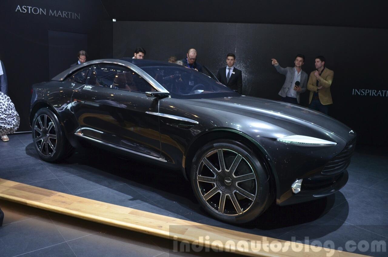 Aston Martin Dbx Concept 2015 Geneva Live