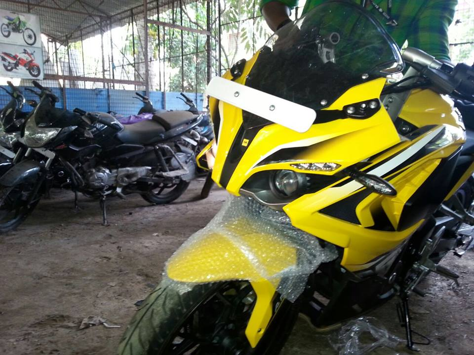Bajaj Pulsar RS200 ABS fairing