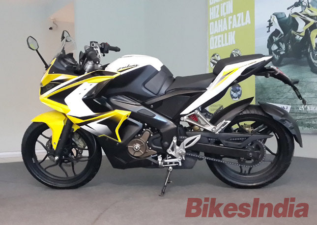 Bajaj Pulsar RS200 side image