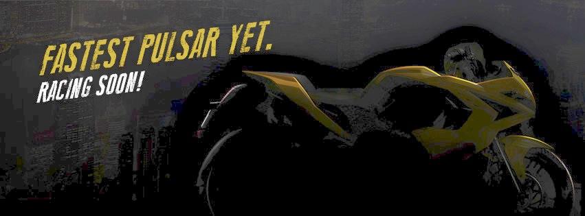 Bajaj Pulsar RS200 teaser