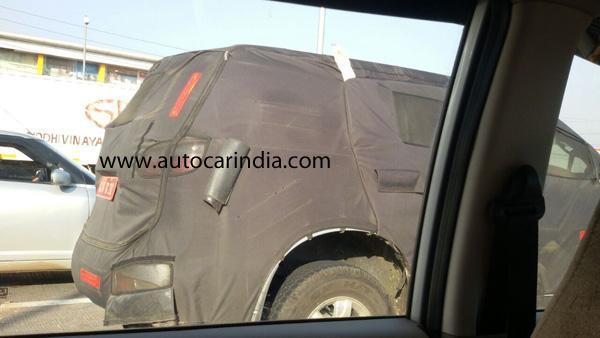 Chevrolet Trailblazer side spied India