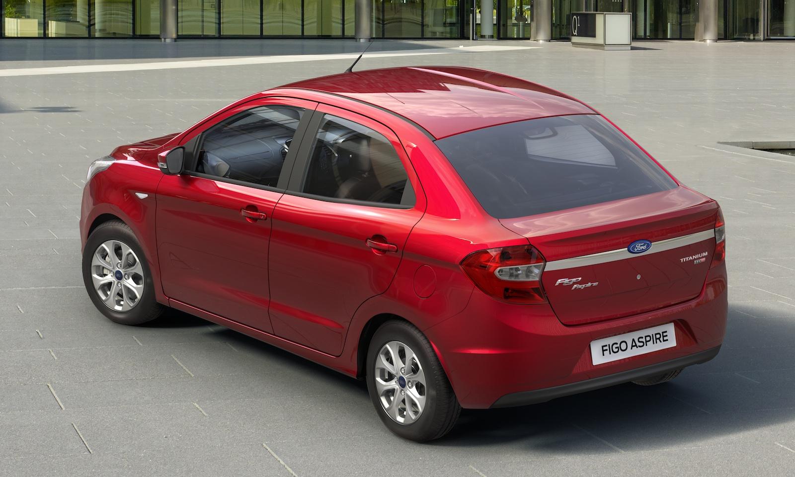 Ford Figo Aspire press image