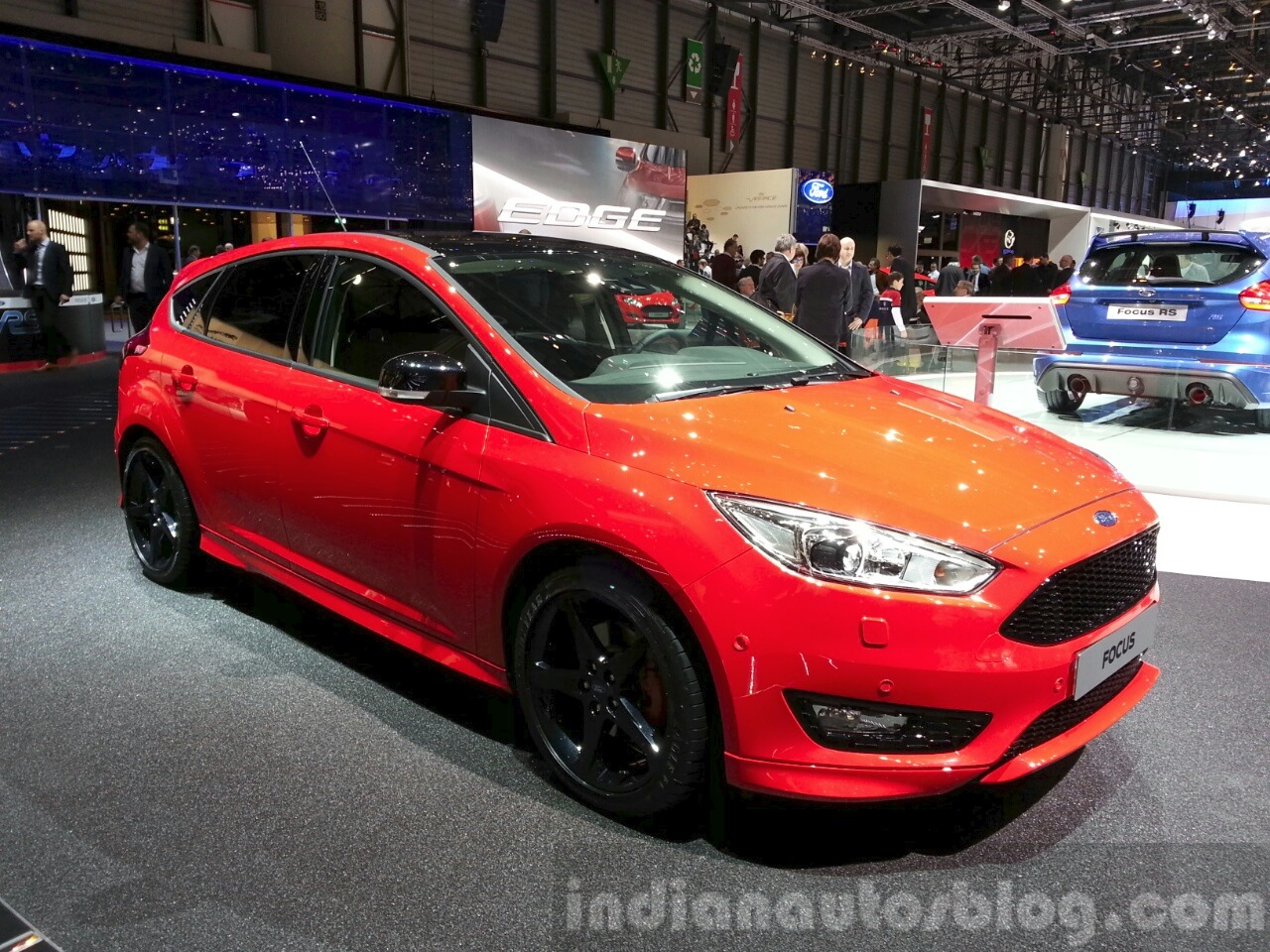 Ford Focus Red And Black Editions 2015 Geneva Live
