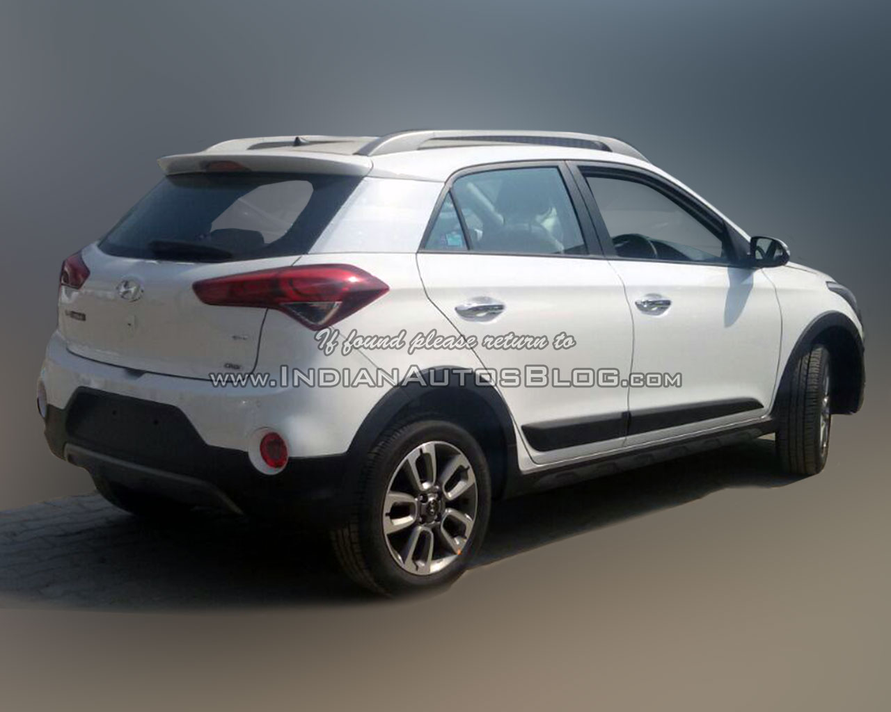 Hyundai I20 Active Begins Arriving At Dealers Wiring Diagram Santro India Sx Diesel Rear Three Quarter Reader Image