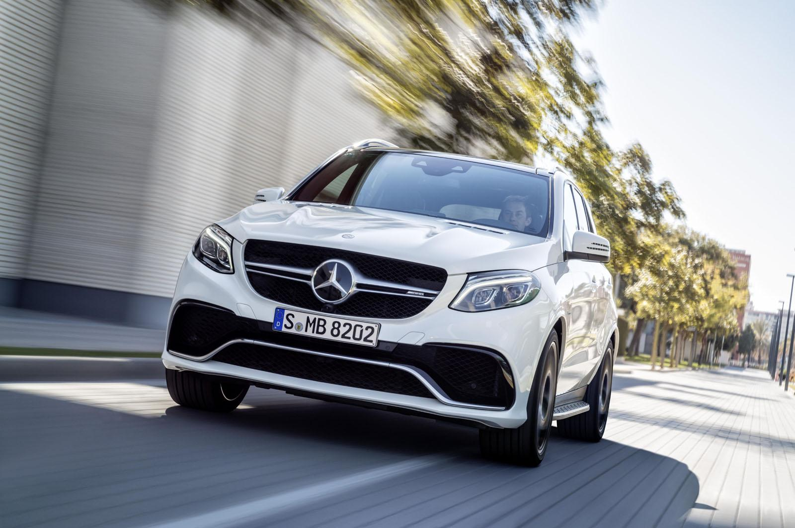 Mercedes GLE 63 AMG official image