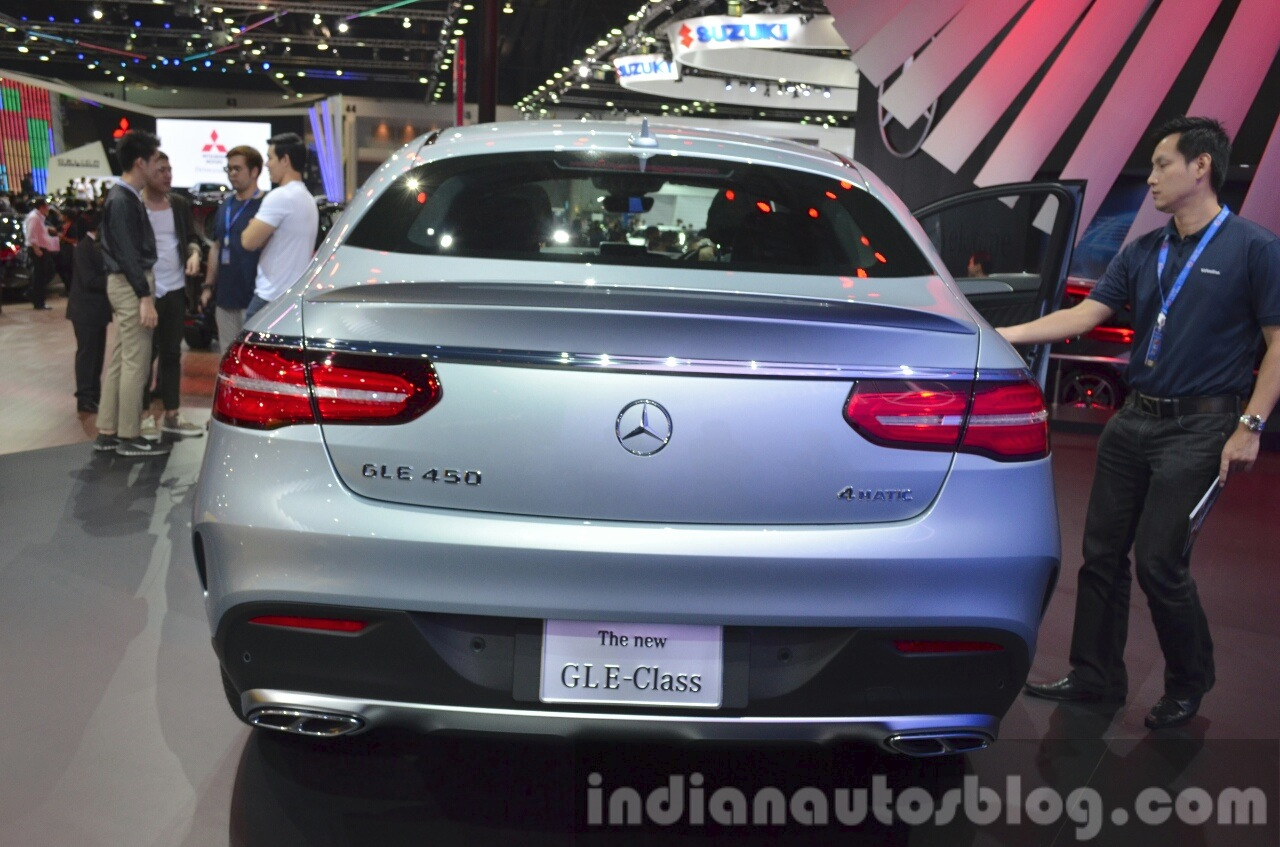 Mercedes GLE Coupe rear at the 2015 Bangkok Motor Show