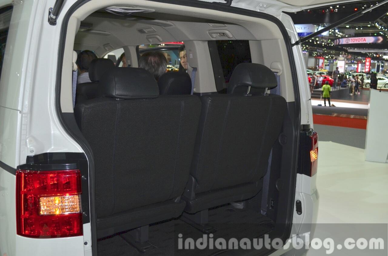 Mitsubishi Delica boot at the 2015 Bangkok Motor Show