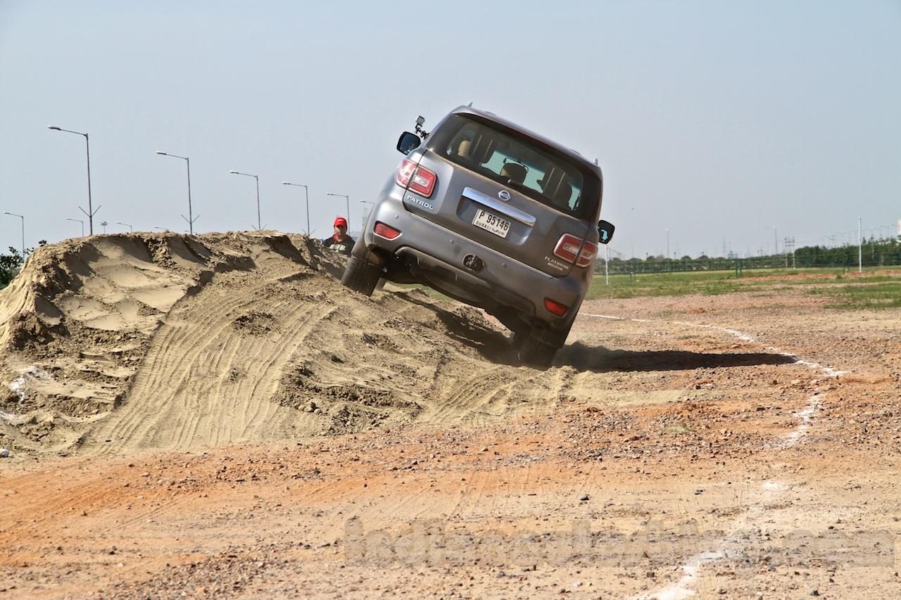 Nissan Patrol India showcase rear(5)