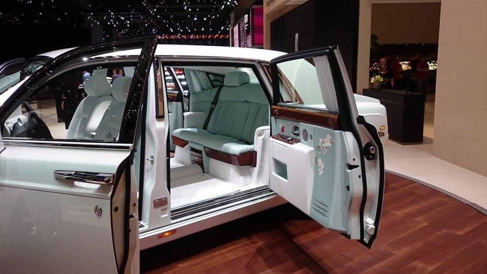 Rolls Royce Serenity interior at the 2015 Geneva Motor Show