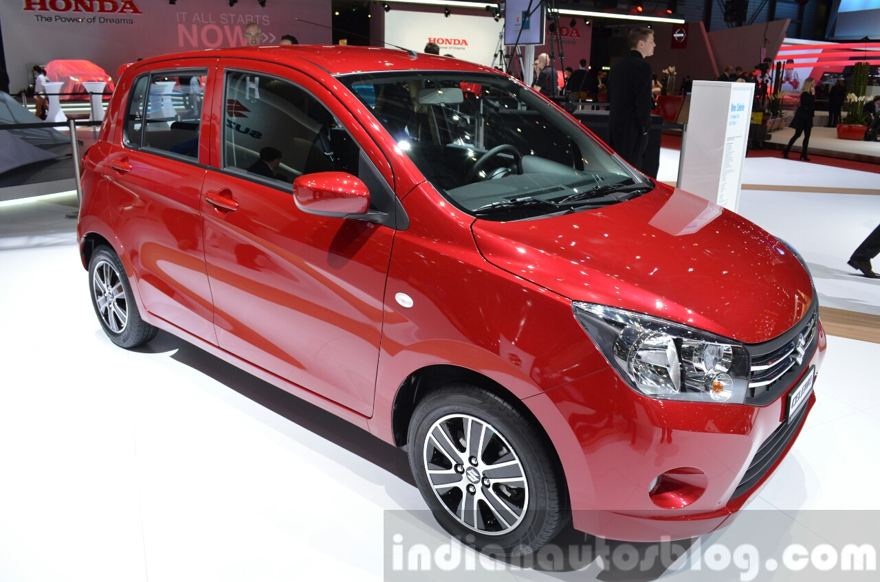 suzuki swift sport suzuki celerio 2015 geneva live. Black Bedroom Furniture Sets. Home Design Ideas