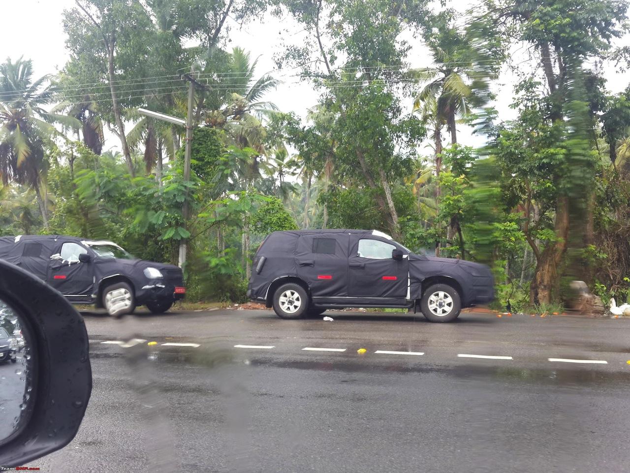 2015 Chevrolet Trailblazer side spied testing Trivandrum