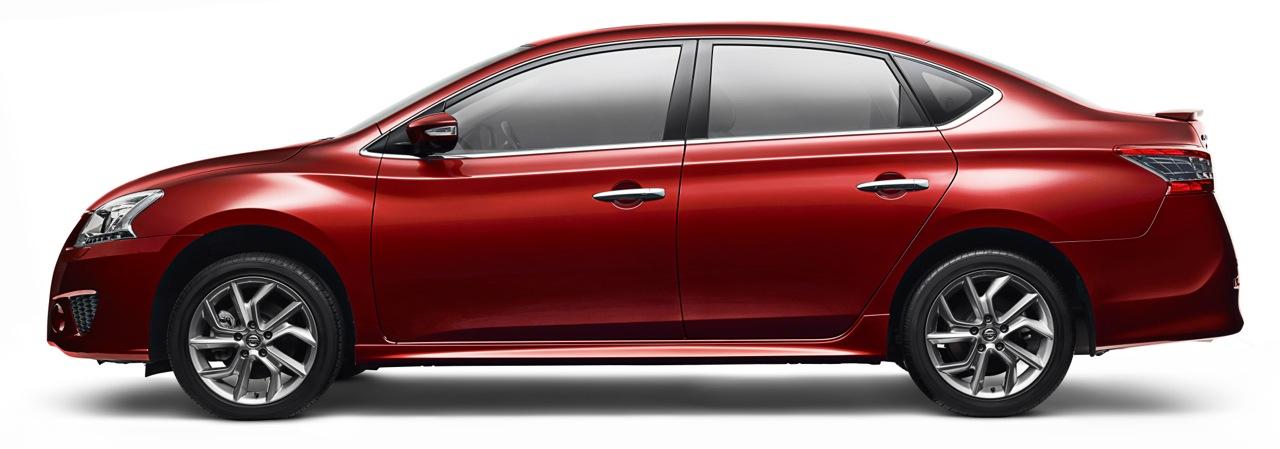 2015 Nissan Pulsar SSS sedan side press image