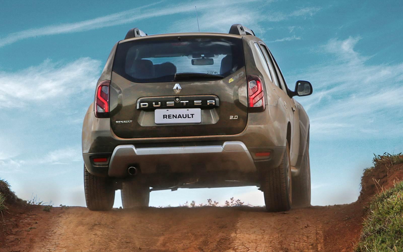 2015 Renault Duster facelift taillight Brazil