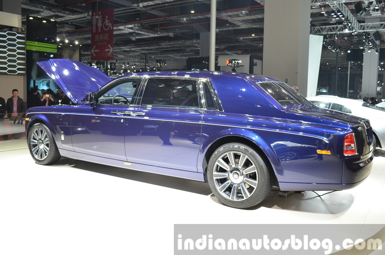 2015 Rolls Royce Phantom Limelight Wallpaper: 2015 Rolls Royce Phantom Limelight Collection Rear Three