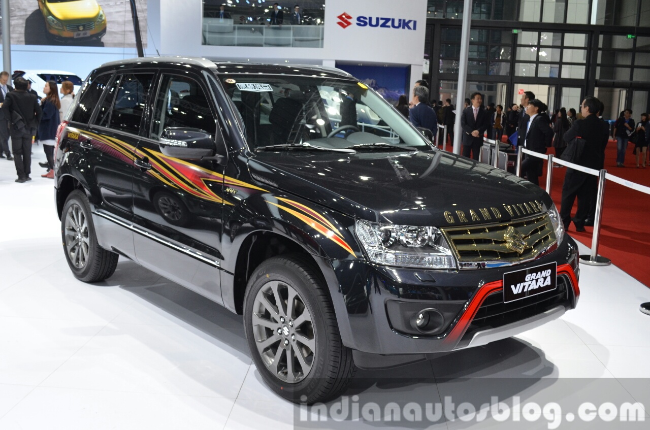 2015 Suzuki Grand Vitara Limited front three quarter at the Auto Shanghai 2015 - 2010 Suzuki Grand Vitara Special Edition