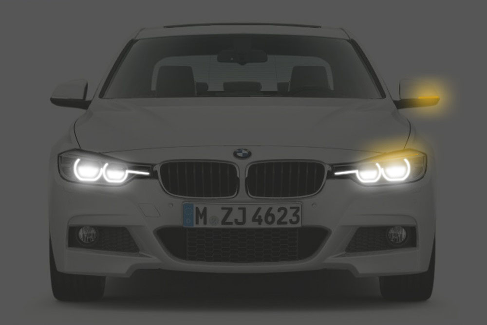 2016 BMW 3 Series facelift front rendering