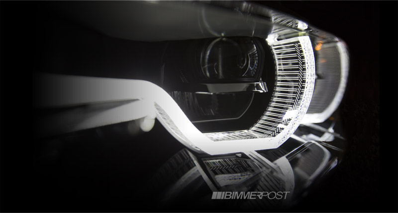 2016 BMW 7 Series preview teaser laser headlamps