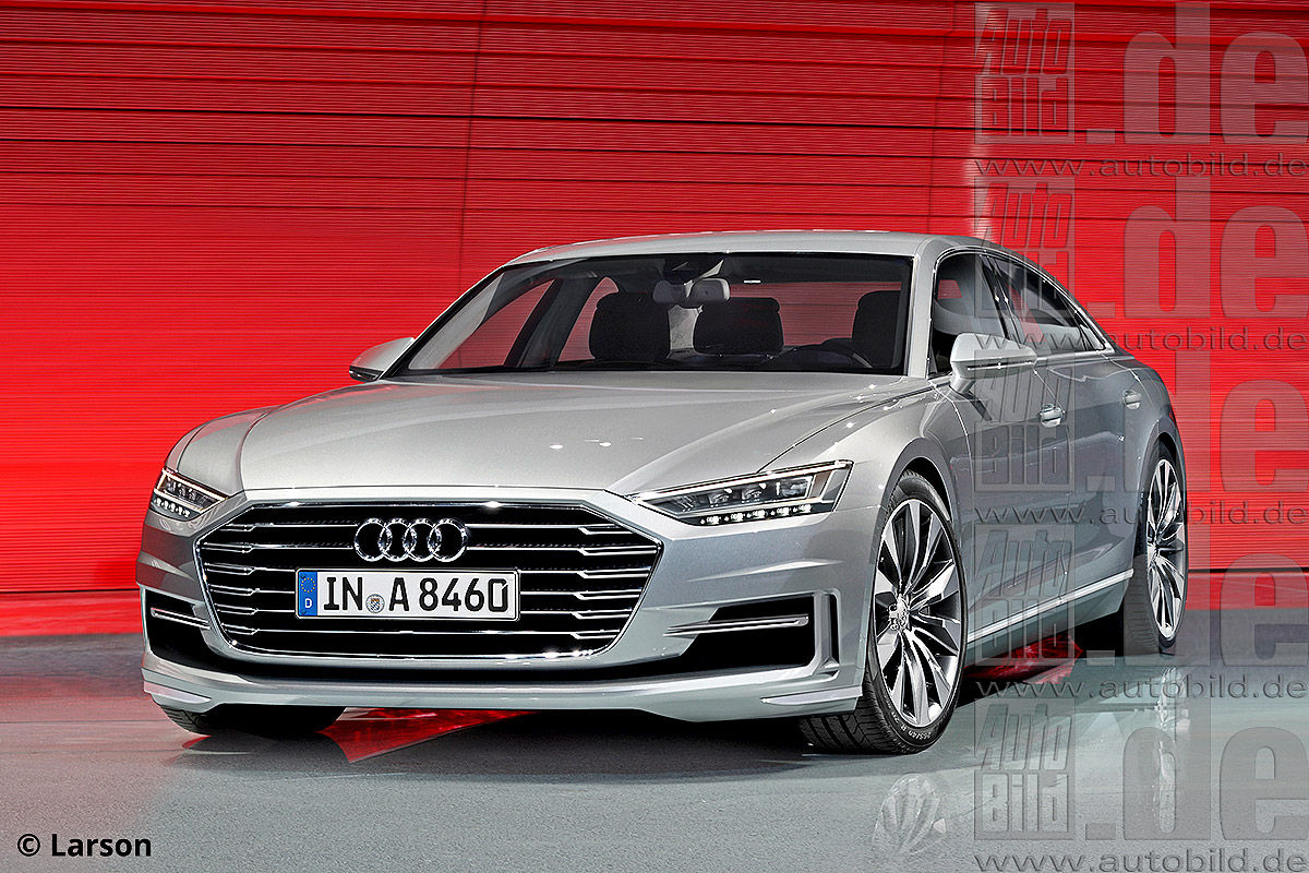 Audi A To Have L W L V Engines Rendering - 2018 audi s8