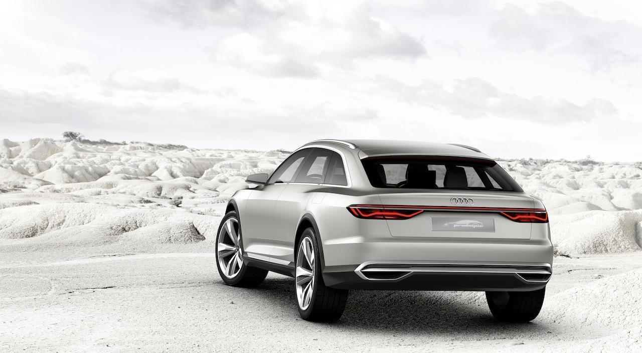 Audi Prologue allroad concept rear end
