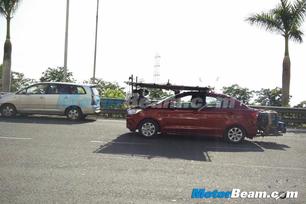 Ford Figo Aspire profile TVC shoot
