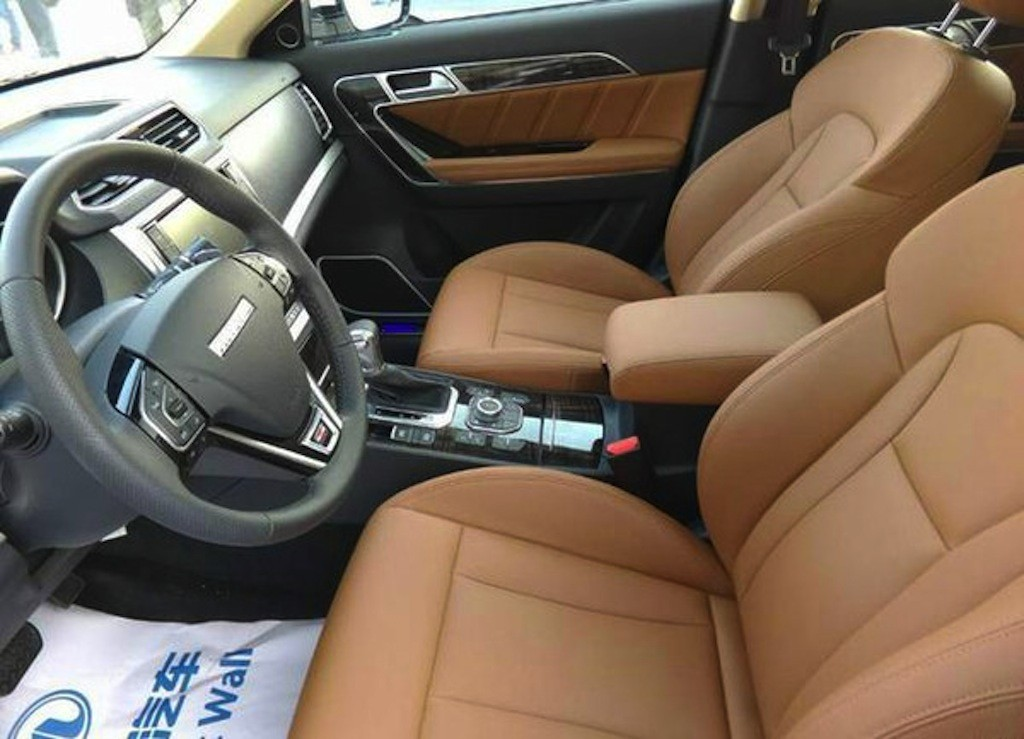 Haval H6 Coupe seats