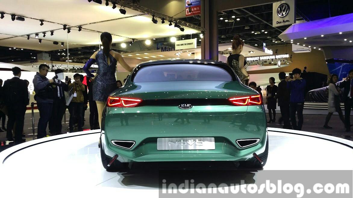 Kia Novo Concept rear at the Seoul Motor Show 2015