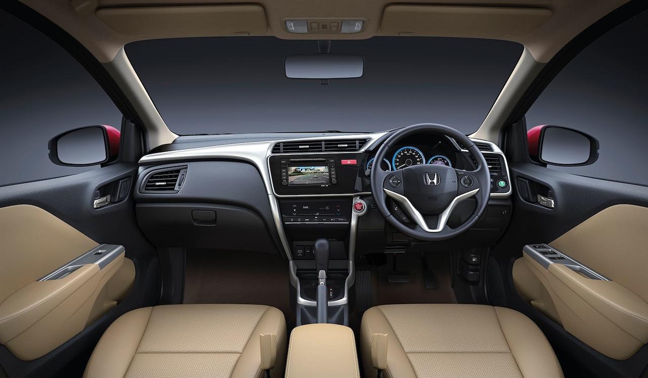 New Honda City VX(O) interior