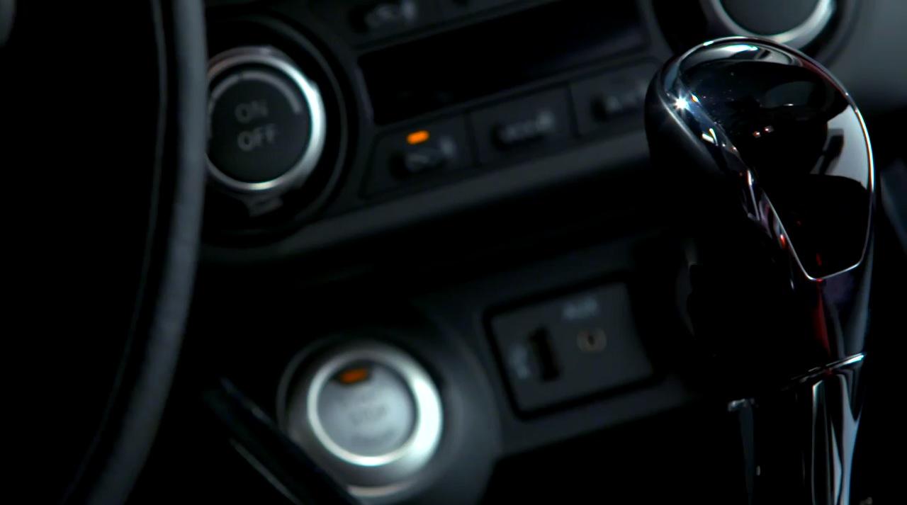 Nissan Lannia center console video teaser screen shot
