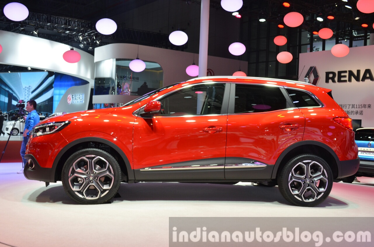 Renault Kadjar Makes Chinese Debut At Auto Shanghai 2015