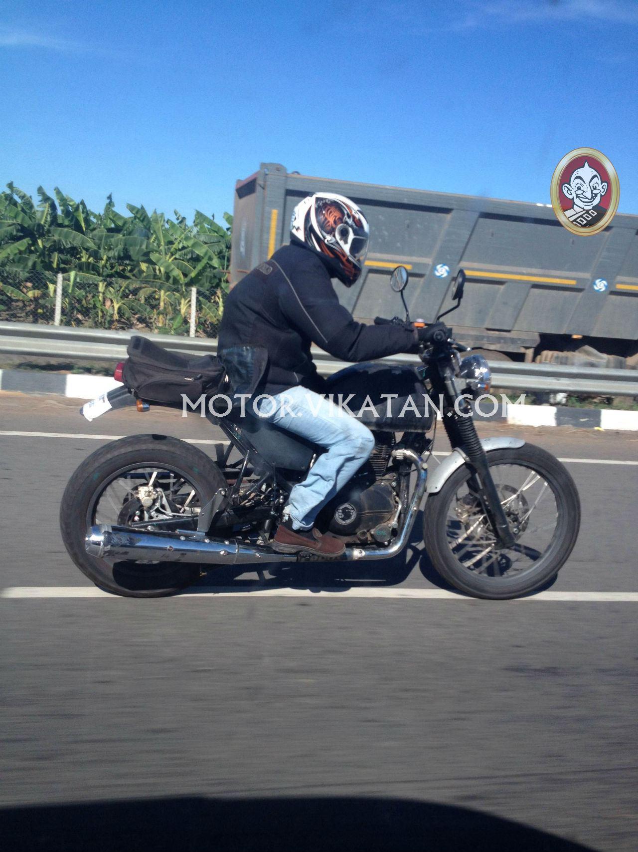 Royal Enfield Himalayan Spotted Testing In Chennai