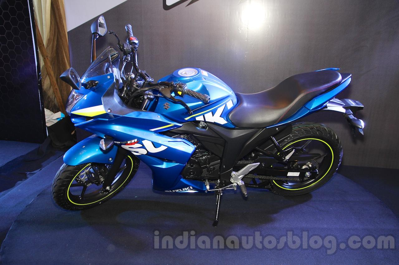 Suzuki Gixxer SF profile