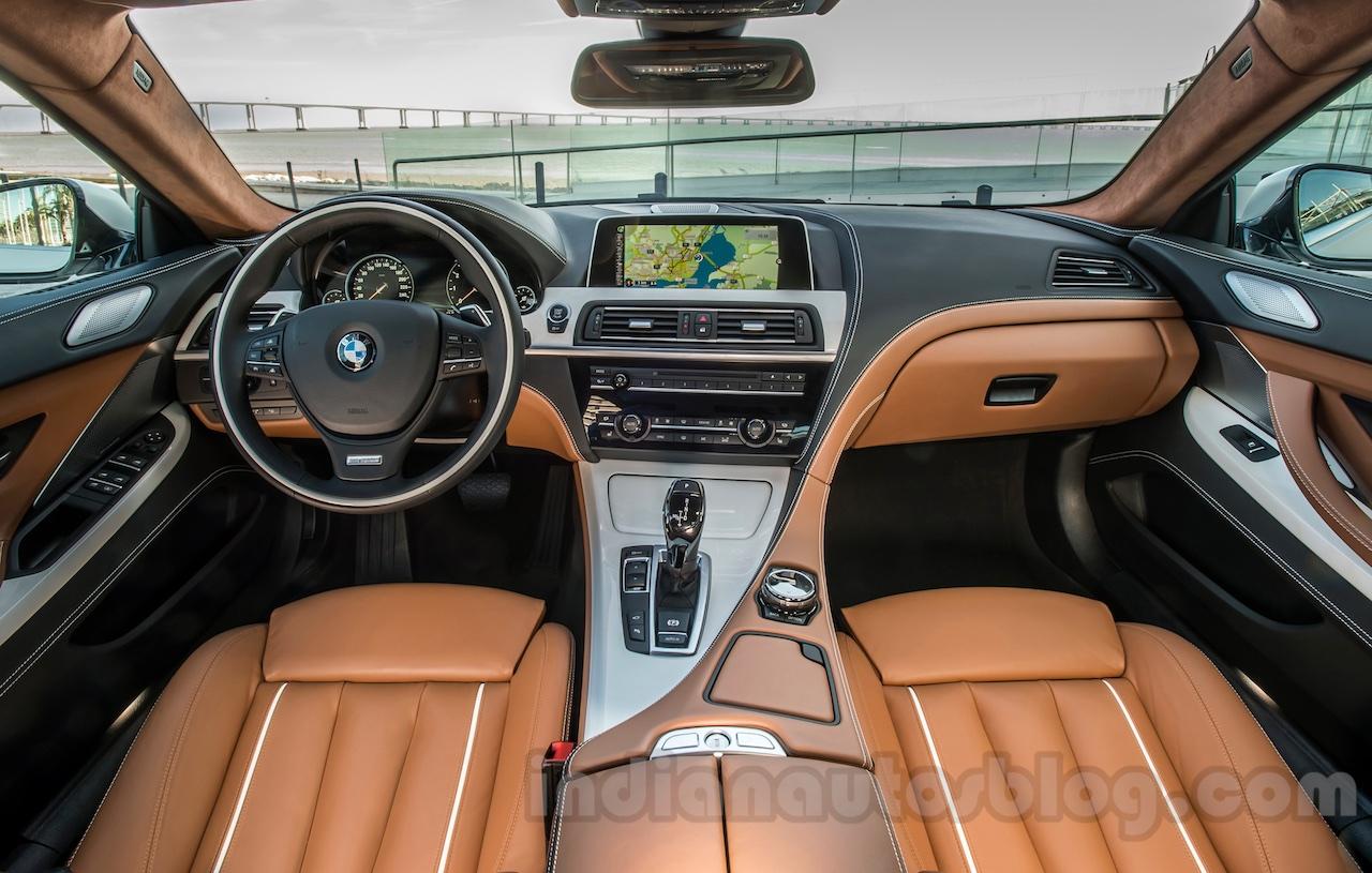 2015 BMW 6 Series Gran Coupe Facelift Interior Press Shots