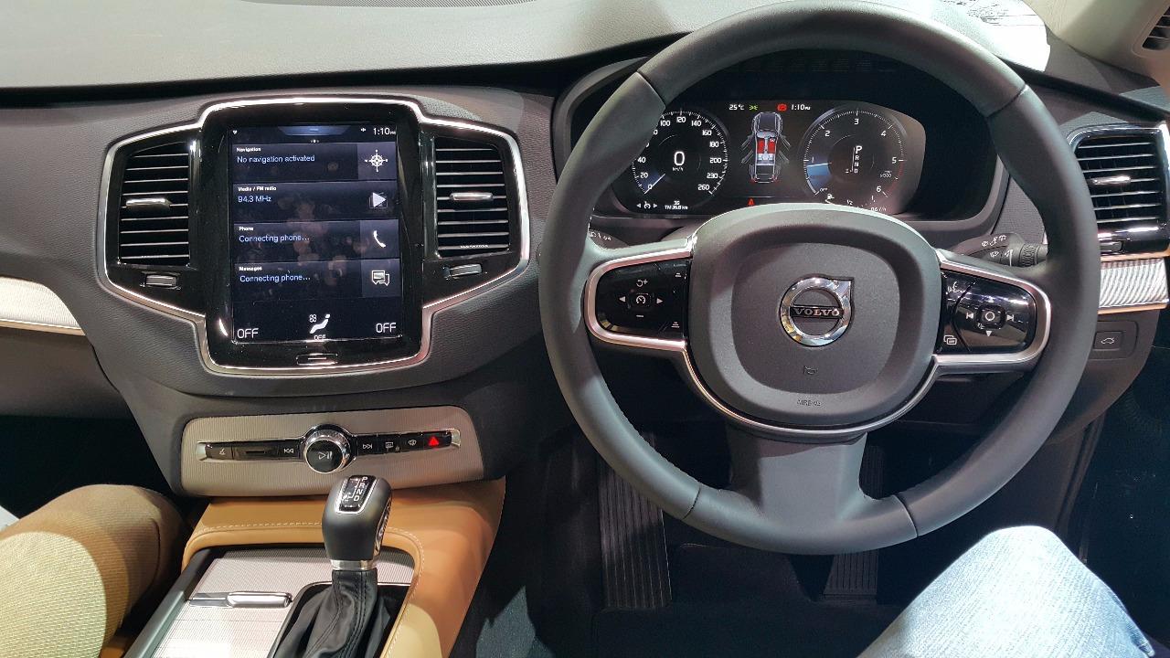2015 Volvo XC90 interior India launch live