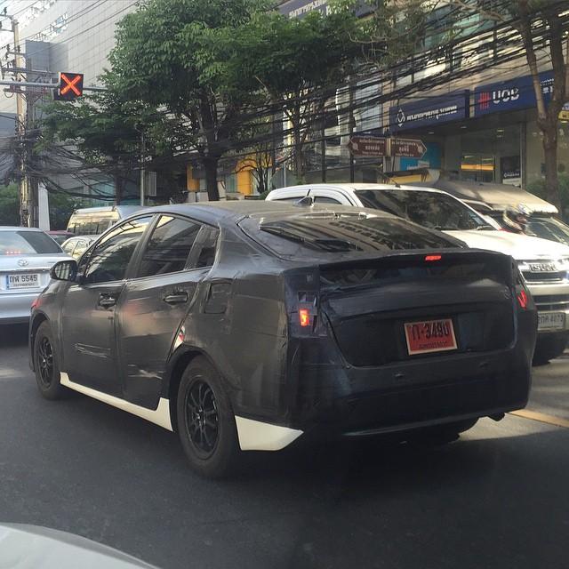 2016 Toyota Prius Thailand spied