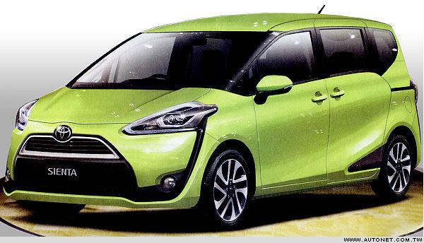 2016 Toyota Sienta front three quarter leaked press image