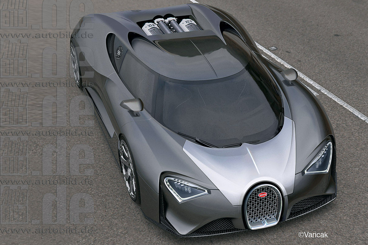 2017 Bugatti Chiron Expected To Cost Over Usd 2 5 Million