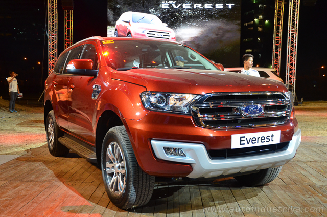 Ford Everest Philippines launch front three quarter