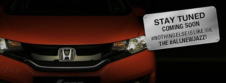 Honda Jazz grille teaser
