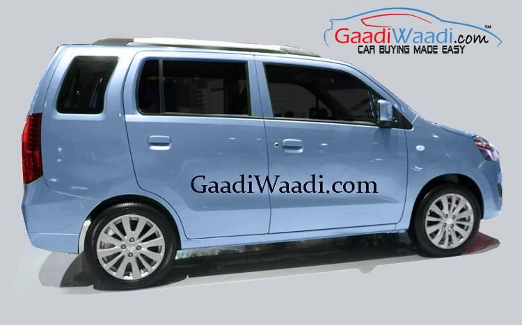 Maruti Wagon R 7-seat MPV Maruti YJC spied