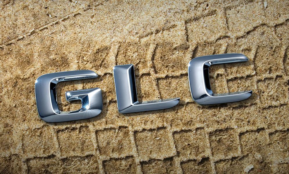 Mercedes GLC badge teaser