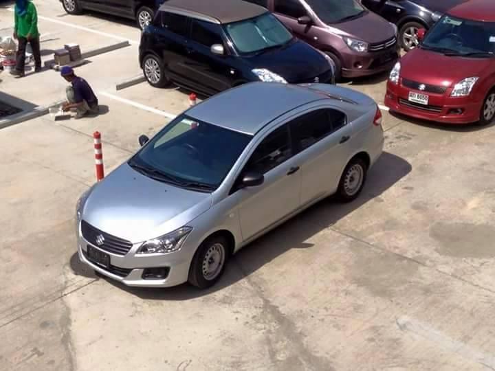 Suzuki Ciaz base variant Thailand spied