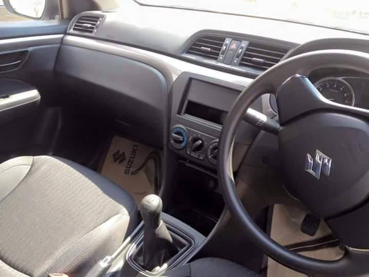 Suzuki Ciaz interior base variant Thailand spied