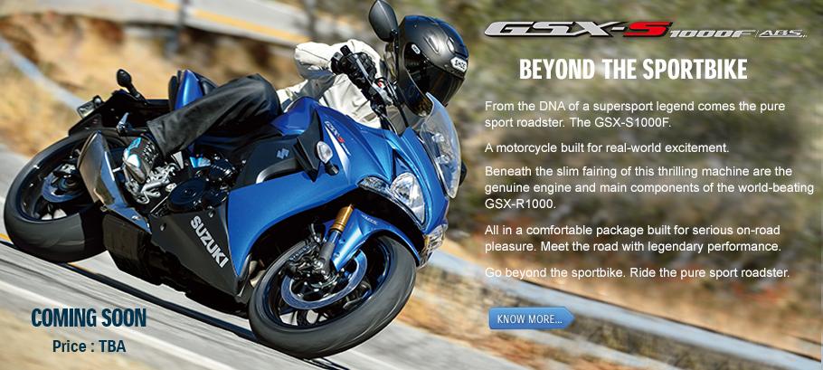 Suzuki S1000F teased India