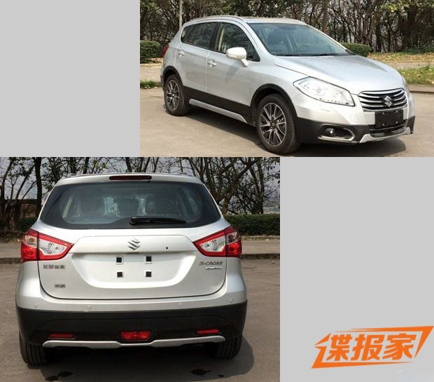 Suzuki SX4 S-Cross China spied